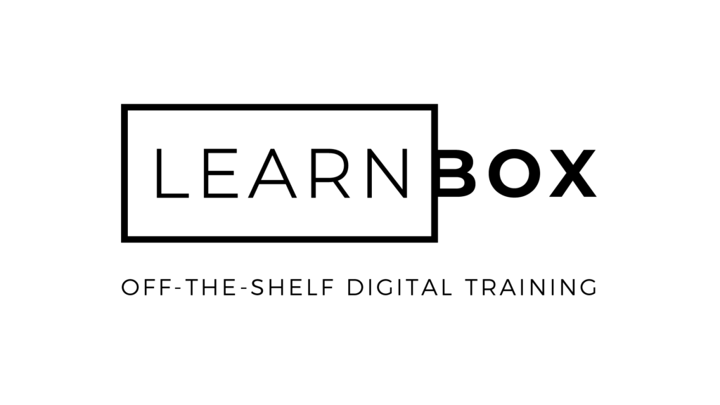 eLearning partner - Learn Box - off the shelf digital training - Pro-Active Communications