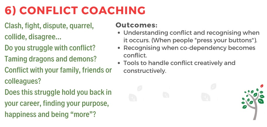 Conflict Coaching - Pro-Active Communications